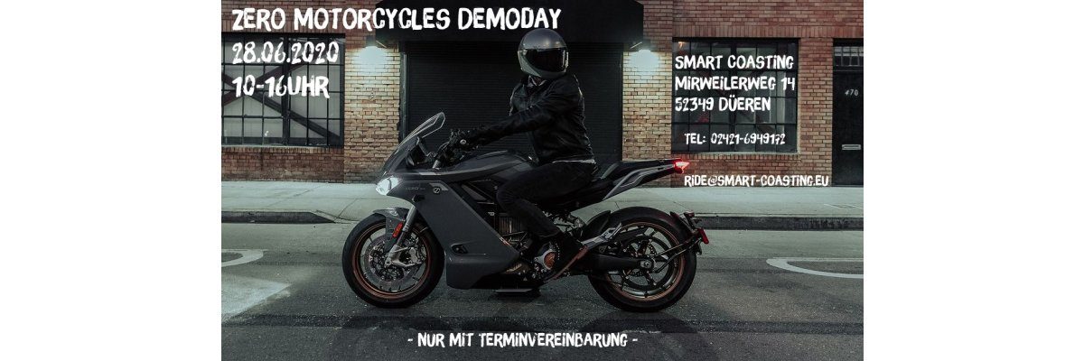 Zero Motorcycles Demo Day 2020 - Zero Motorcycles Demo Day 2020
