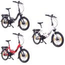 "NCM Paris MAX 20"" N8C E-folding bike 36V 14Ah 504Wh"
