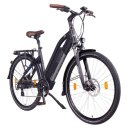 """NCM Milano 26""""-28"""" E-Bike Urban Trekkingbike 48V 13Ah 624Wh Akku Schwarz 26"""""""