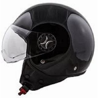 ITO Loreto black matt incl. visor S/M/L/XL Schwarz Glänzend M