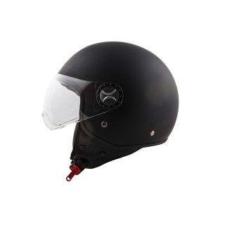 ITO Loreto black matt incl. visor S/M/L/XL Schwarz Matt XS