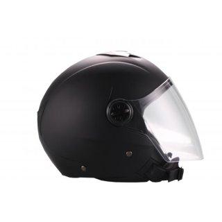 VITO JET PALERMO jet helmet matt black/shiny white XS/S/M/L/XL