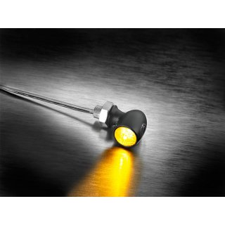 Kellermann Atto Dark LED Blinker schwarz