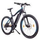 "NCM Moscow E-Bike Mountainbike 48V 13Ah 624Wh Akku Schwarz, Blau 27,5"""