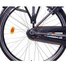 "NCM Munich N8C 28"" with back pedal brake City E-Bike 36V 13Ah 468Wh Li-Ion battery anthracite"