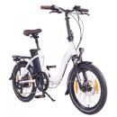 """NCM Paris 20"""" E-Bike E-Faltrad weiß"""