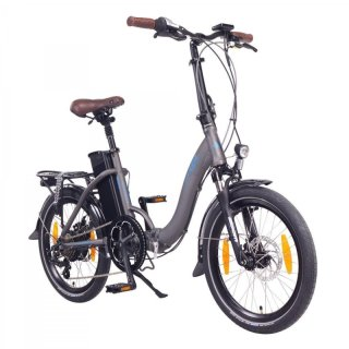 "NCM Paris 20"" E-Bike E-Faltrad anthrazit"