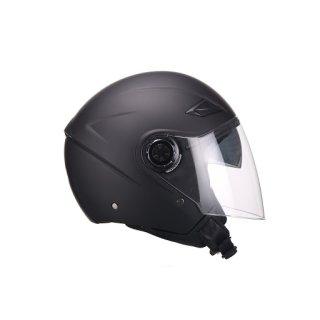 VITO JET Amaro jet helmet black/white/metallic