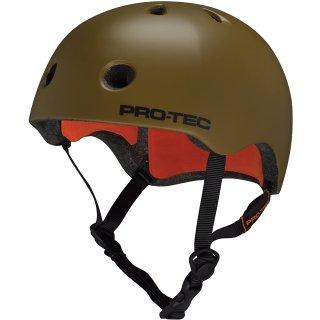 PRO TEC Bicycle Helmet Skate Helmet XL Army Green