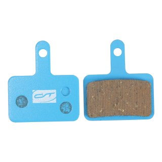 Contec disc brake pad organic CBP-530 suitable for NCM Milano, Moscow, Munich, Hamburg and Venice contains 2 pcs.