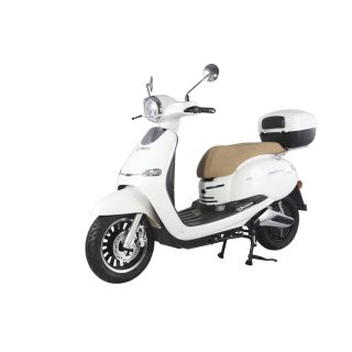 Tinbot TB-F10 electric scooter 60V 28Ah Lithium battery removable Weiß