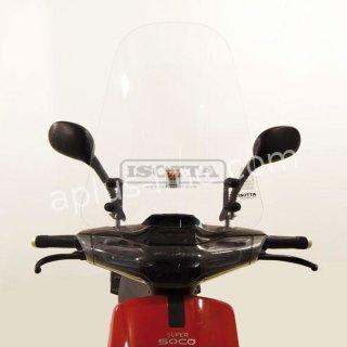 Super Soco CUX windscreen