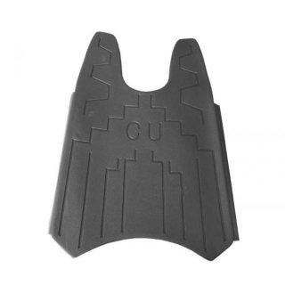 Super Soco CUX Fußplatte schwarz