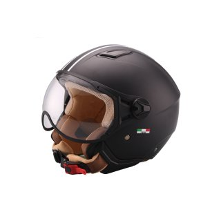 VITO MODA JET jet helmet matt black S/M/L/XL