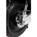 Yadea C1S Elektroroller 45 km/h 2200W Nabenmotor anthrazit