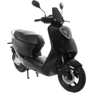 Yadea C1S Elektroroller 45 km/h 2200W Nabenmotor schwarz glänzend