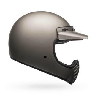Bell Moto 3 Classic Vintage MX Helm Retro Independent Titanium Matt M - 57-58cm