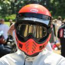 Bell Moto 3 Classic Vintage MX Helm Retro Neon Orange S- 55-56cm