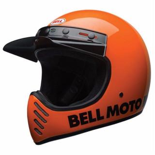 Bell Moto 3 Classic Vintage MX Helm Retro Neon Orange XXL - 63-64cm