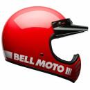 Bell Moto 3 Classic Vintage MX Helm Retro Rot M - 57-58cm