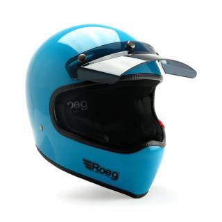 Roeg Peruna MX Helm Retro Vintage Sky Gloss L - 59-60cm
