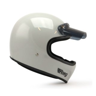 Roeg Peruna MX Helm Retro Vintage fog white S - 55-56cm