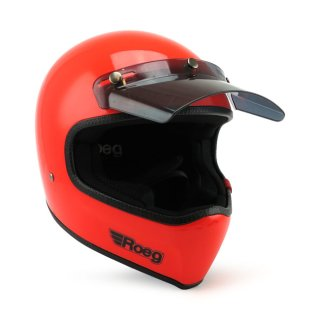 Roeg Peruna MX Helm Retro Vintage Oompa Orange L - 59-60cm