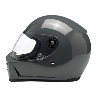 Biltwell Lane Splitter Integralhelm Gloss Storm Grey S - 55-56cm