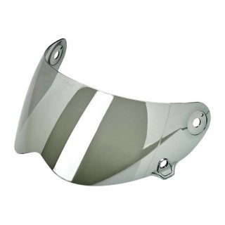 Biltwell Lane splinter anti fog visor chrome mirrored