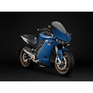 Zero Motorcycles SR/S Model 2021 ZF14.4 40kW Blau Premium 6kW Power Tank