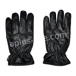 "Aplus leather gloves ""Oslo"" black"
