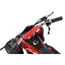 Miniquad Elektro Kinder Racer 1000 Watt schwarz/rot