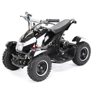 Mini Elektro Kinder ATV Cobra 800 Watt Pocket Quad schwarz/weiß