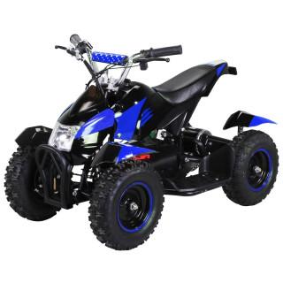 Mini Elektro Kinder ATV Cobra 800 Watt Pocket Quad schwarz/blau