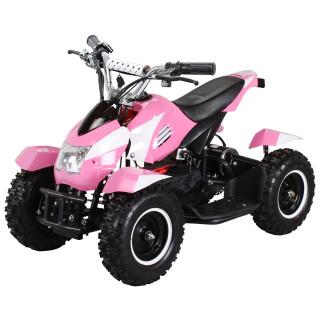 Mini Elektro Kinder ATV Cobra 800 Watt Pocket Quad pink/weiß