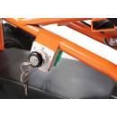 Mini Elektro Kinder ATV Cobra 800 Watt Pocket Quad schwarz/orange