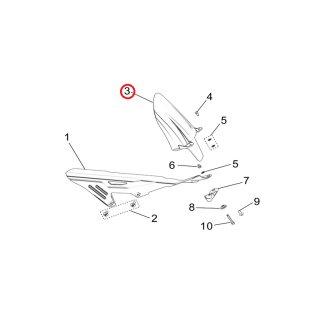 Sur-Ron Firefly (L1E) Spritzschutz Kotflügel hinten