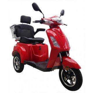 Seniorenmobil VITA CARE 1000 Lithium-Akku 25 km/h Elektromobil rot