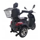 Seniorenmobil VITA CARE 1000 Bleigel Akku 25 km/h Elektromobil schwarz