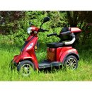 Seniorenmobil Eco Engel 510 rot 25 km/h Gehhilfehalterung