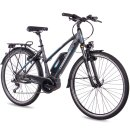 Chrisson 28 Zoll E-Bike City Damen E-ROUNDER mit 9 Gang...