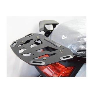 Isotta Gepäckträger für NIU MQI GT - schwarz metall