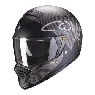 Scorpion EXO-HX-1 Taktik matt black silver XS