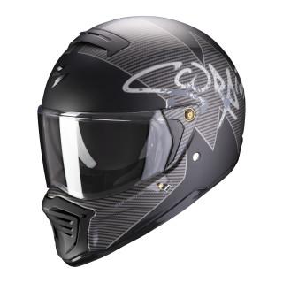 Scorpion EXO-HX-1 Taktik matt black silver S