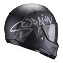 Scorpion EXO-HX-1 Taktik matt black silver L