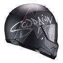 Scorpion EXO-HX-1 Taktik matt black silver XL