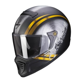 Scorpion EXO-HX-1 Ohno matt black gold S
