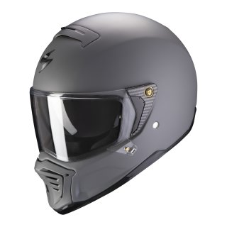 Scorpion EXO-HX-1 Solid matt cement grey L