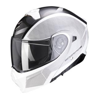 Scorpion EXO-930 CIELO pearl white black XXL