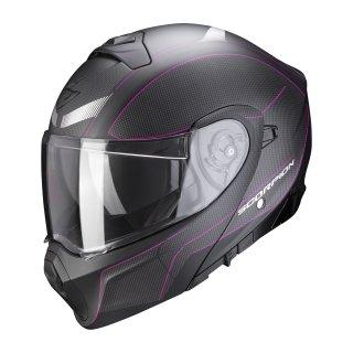 Scorpion EXO-930 CIELO matt black pink